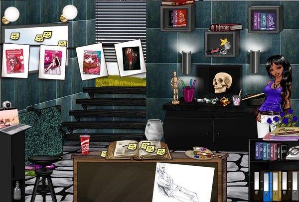 Chambre A Coucher Rose Fushia : Logement de ma bimbo chambre a coucher